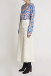Godfrey Midi Skirt W Patch Pocket Ivory