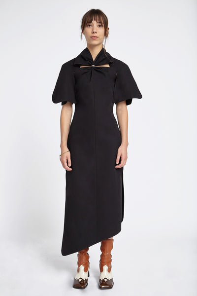 Holly Of Hollies Cinched Dress Black