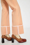 Bembe Turn Up Cuff Pants Peach