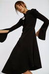 Dissertation Placket Dress Black