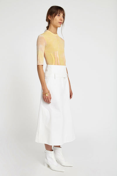 Next of Kin Corset Skirt Ivory