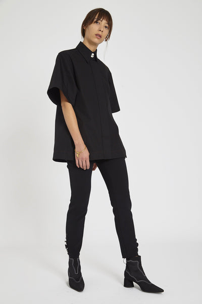 Rallets Short Sleeve Shirt Black