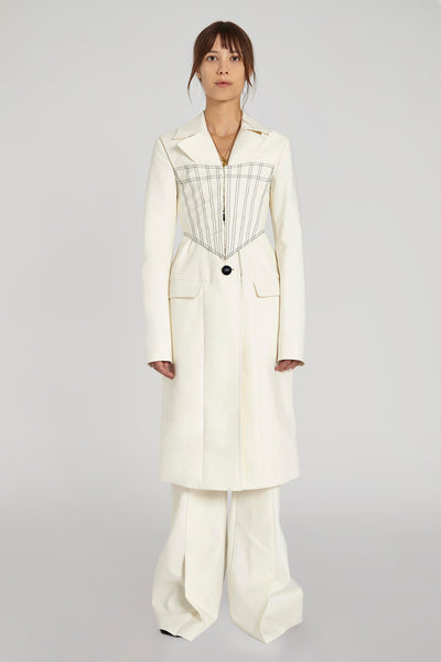Visual Pun Corset Coat