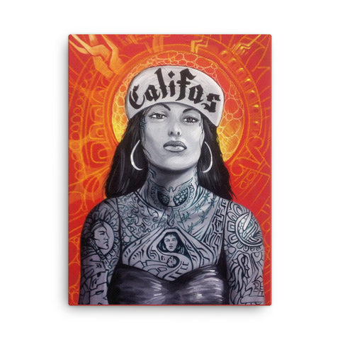 "Limited edition Gclee print on Canvas ""Califas"" by John zender"
