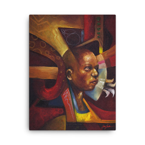 "Limited edition G Clee Print on Canvas ""Return 2 Innocence"" by John Zender"