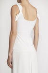 Readymades Knotted Ties Corset Dress White