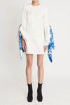 Dogmatism White Flare Dress White