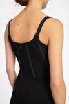 Armoire Corset Slip Dress Black