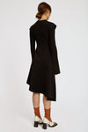 Dissertation Packet Dress Black