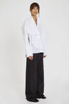 Richter Drape Front Top White