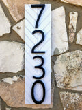 Address Sign | House Number Sign