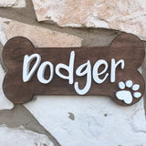 "12X6"" Dog Bone Sign - the-beautiful-birch"