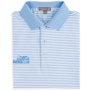 Men's Competition Stripe Stretch Jersey Polo With by Peter Millar