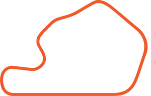 Limerock Track Outline Logo Orange