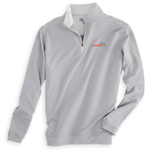 Men's Perth Stretch Terry Layer Performance Quarter Zip by Peter Millar