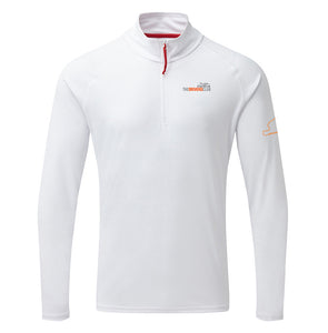 Mens UV Zip Neck Polo by Gill