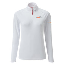 Womens UV Zip Neck Polo by Gill