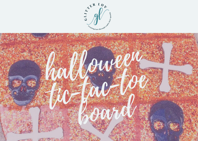 Halloween Tic-Tac-Toe Board