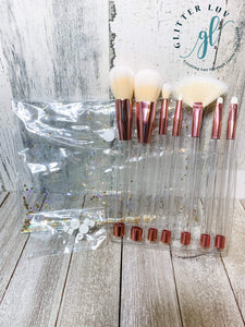 Glitter Luv Accessories DIY Make-Up Brush Set