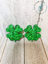 Load image into Gallery viewer, Glitter Luv Accessories Double Clover Mold Double Clover Earrings Silicone Mold