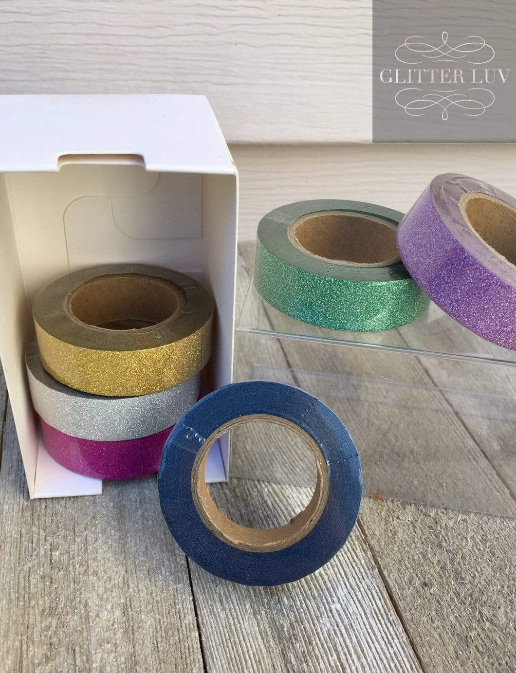 Glitter Washi Tape - 6 Pack