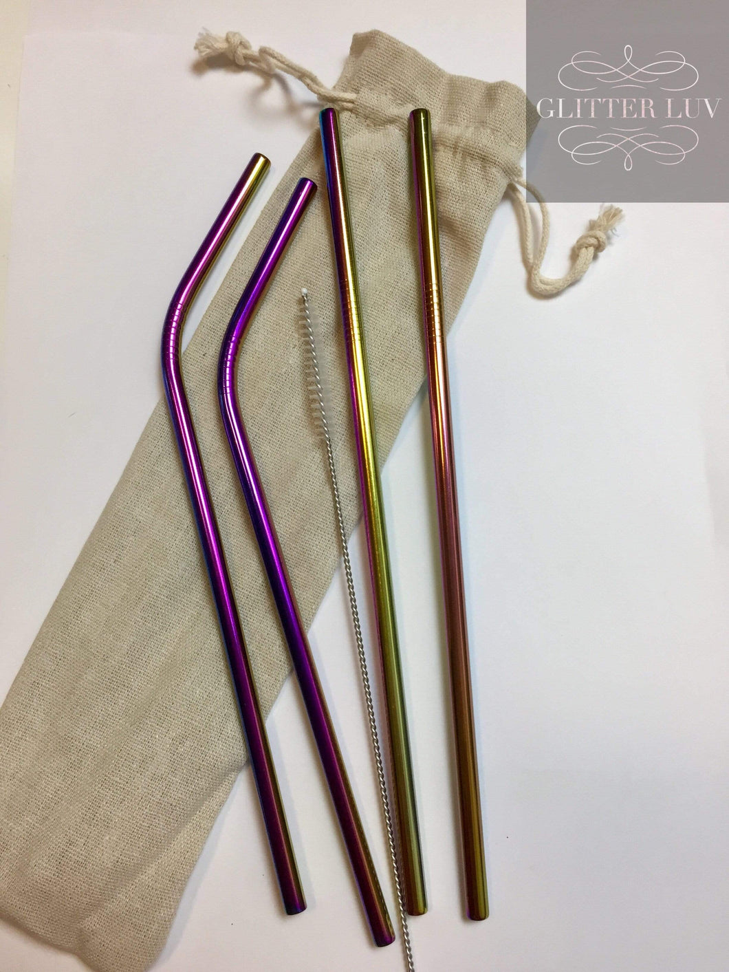 Metal Straw 5 Pack