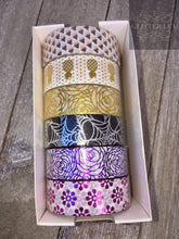 Load image into Gallery viewer, Patterned Washi Tape - 6 Pack