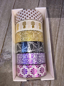 Patterned Washi Tape - 6 Pack