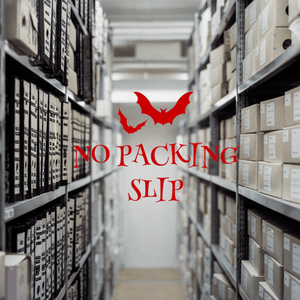 No Packing Slip Please