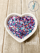 Load image into Gallery viewer, Glitter Luv Aurora's Custom 1.5oz Shaker Aurora's #17 Hugs & Kisses