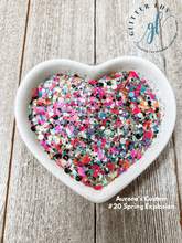 Load image into Gallery viewer, Glitter Luv Aurora's Custom 1.5oz Shaker Aurora's #20 Spring Explosion