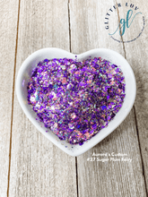 Load image into Gallery viewer, Glitter Luv Aurora's Custom 1.5oz Shaker Aurora's #27 Sugar Plum Fairy