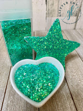 Load image into Gallery viewer, Glitter Luv Fine Mint-O-Licious Taffy Iridescent