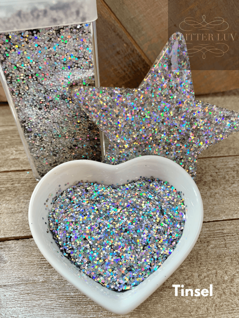 Glitter Luv Fine Tinsel Holographic