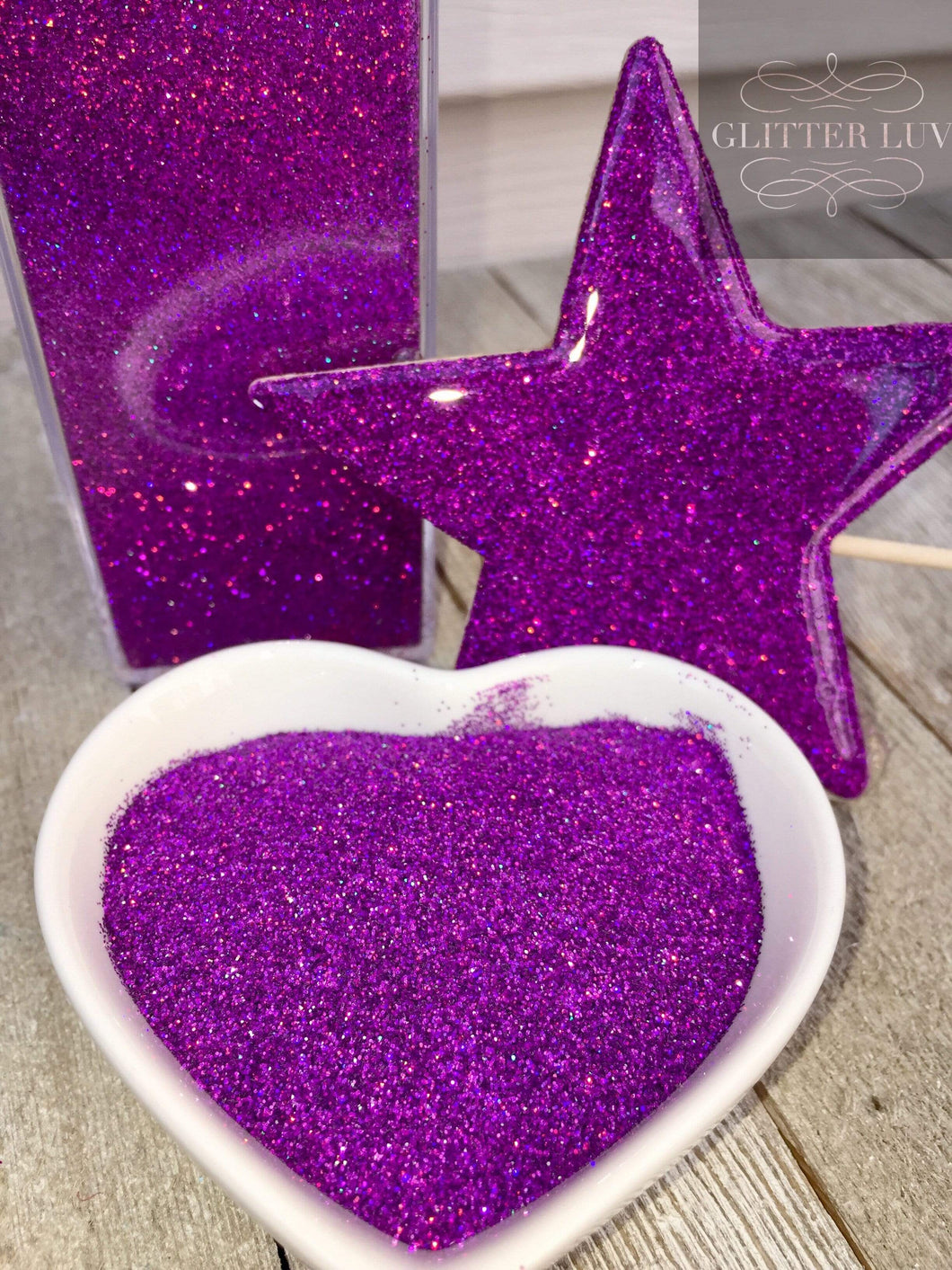 Purple Pop Rocks Holographic