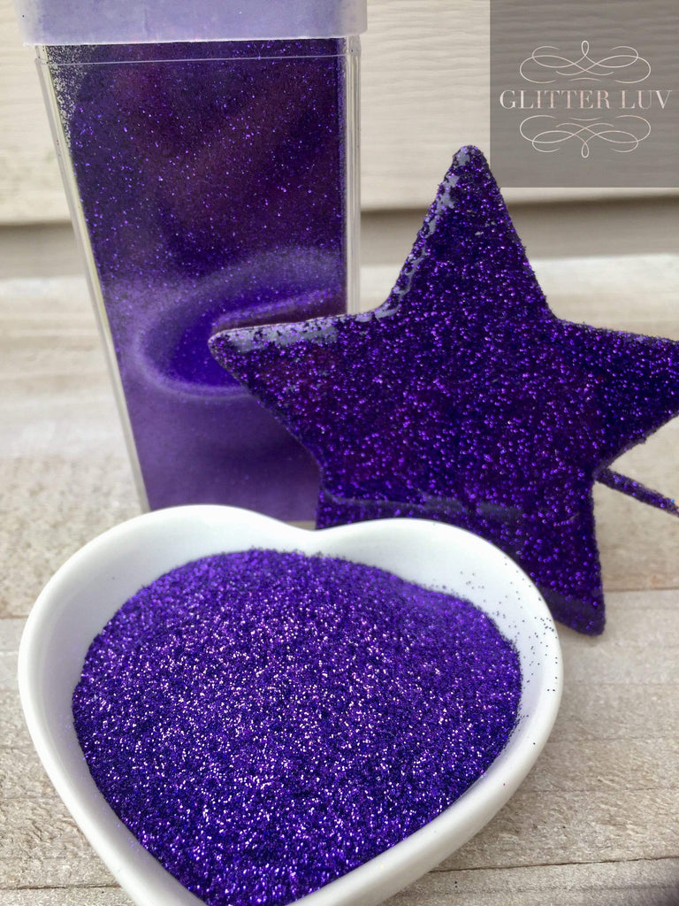 Glitter Luv Metallic Glitter Deep Purple Metallic