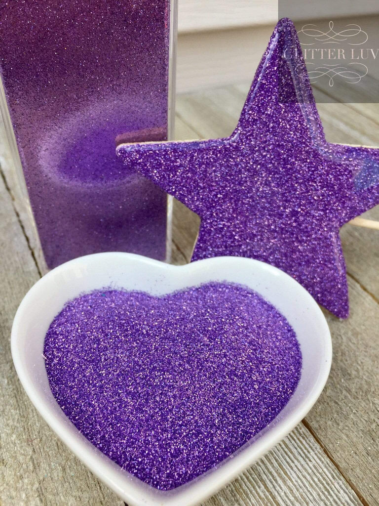 Glitter Luv Metallic Glitter Lavender Kiss Metallic