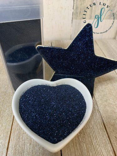 Glitter Luv Metallic Glitter Midnight Blue Metallic
