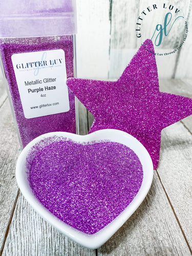 Glitter Luv Metallic Glitter Purple Haze Metallic Glitter