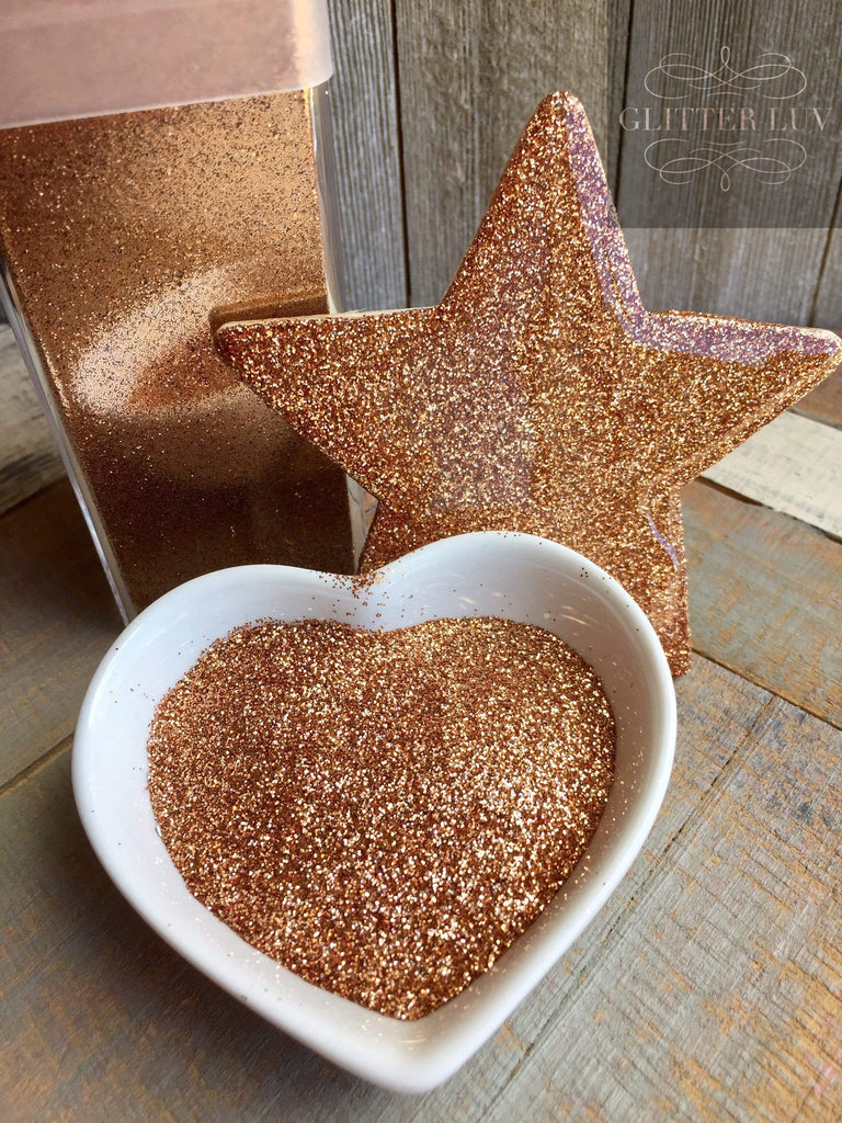 Glitter Luv Metallic Glitter Rust Metallic