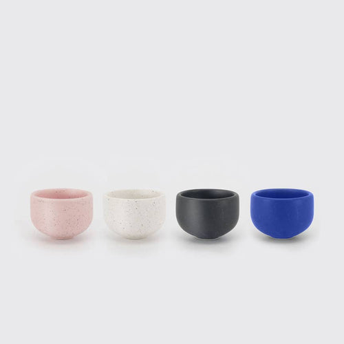 Stoneware Cup / Espresso (set of 4 colors)