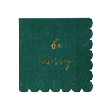 Be Jolly Be Merry Small Napkins