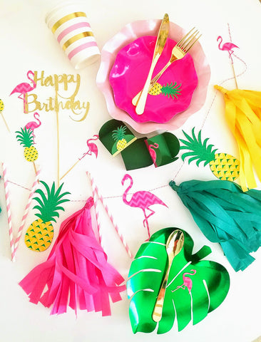 Tropical Flamingo Party Box