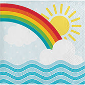Over the Rainbow Napkin (small)