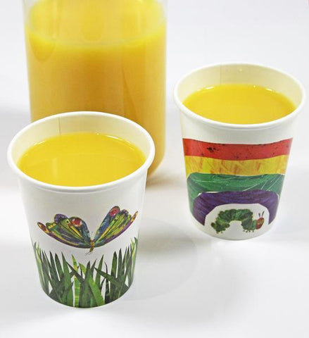 Very Hungry Caterpillar Cups