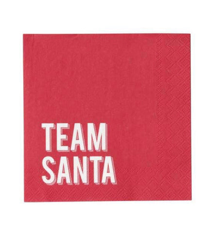 Team Santa Napkins (small)