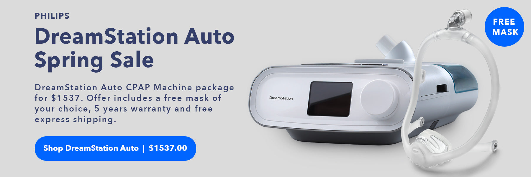 Philips DreamStaion Auto CPAP Machine Sales