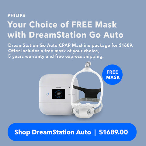 Philips DreamStaion Go Auto CPAP Machine Sales
