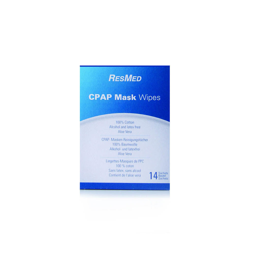 ResMed CPAP Wipes for Travel - 14 Pack Twin Pack by ResMed from Easy CPAP