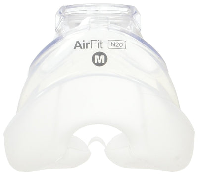 AirFit N20 Nasal Mask InfinitySeal Silicone Cushion by ResMed from Easy CPAP